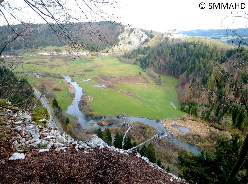 Le Doubs à La Cluse et Mijoux