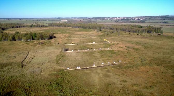 VIDEO : travaux de revitalisation de la Grande Seigne vus du ciel